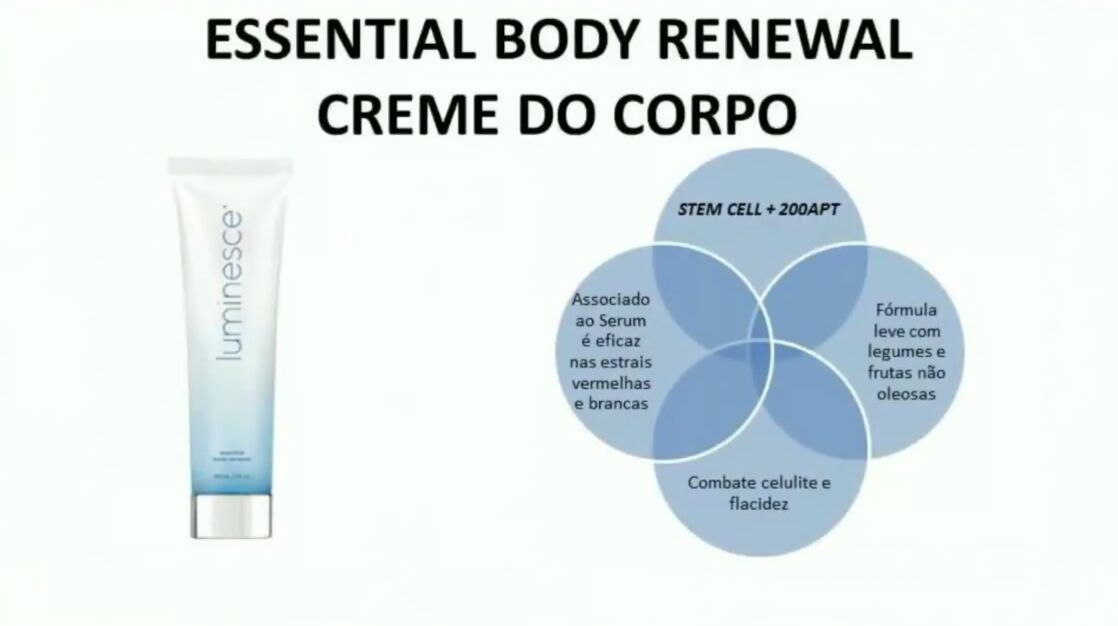 body Luminesce comprar
