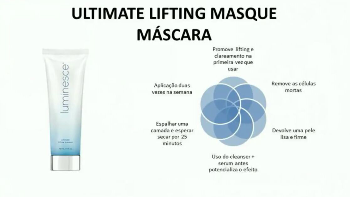 mascara luminesce comprar