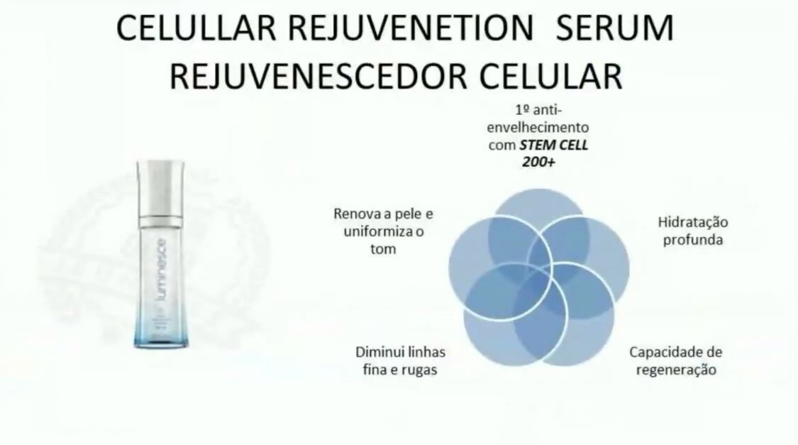 serum luminesce comprar